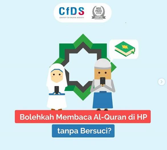 Bolehkah Membaca Al-Quran di HP tanpa Bersuci?