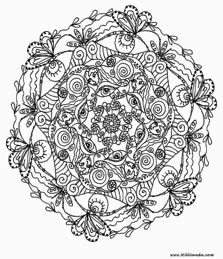 Free Coloring Sheet: Coloring Sheets For Adults