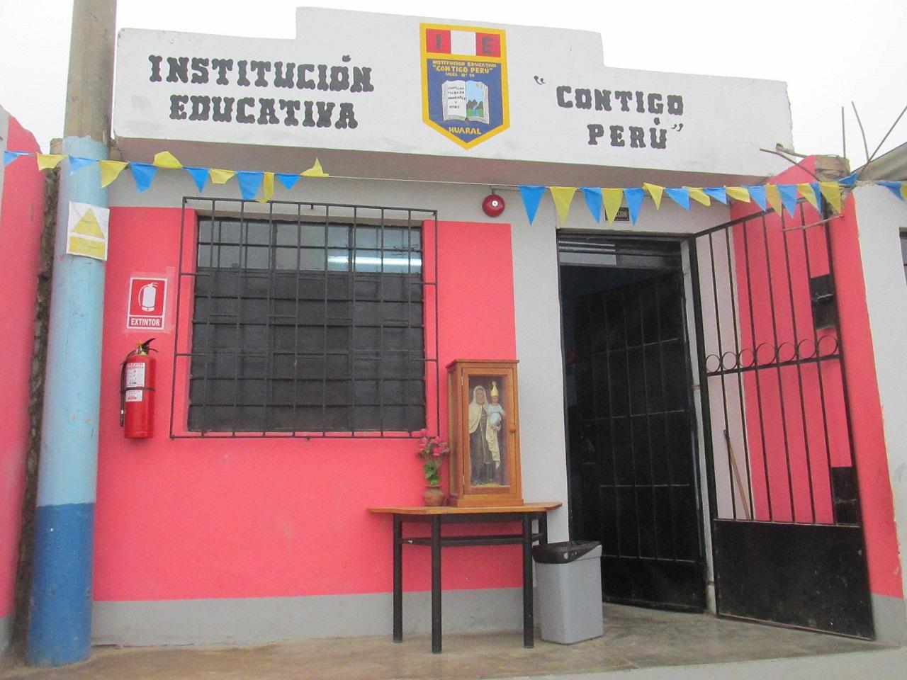 Escuela CONTIGO PERÚ - Huaral
