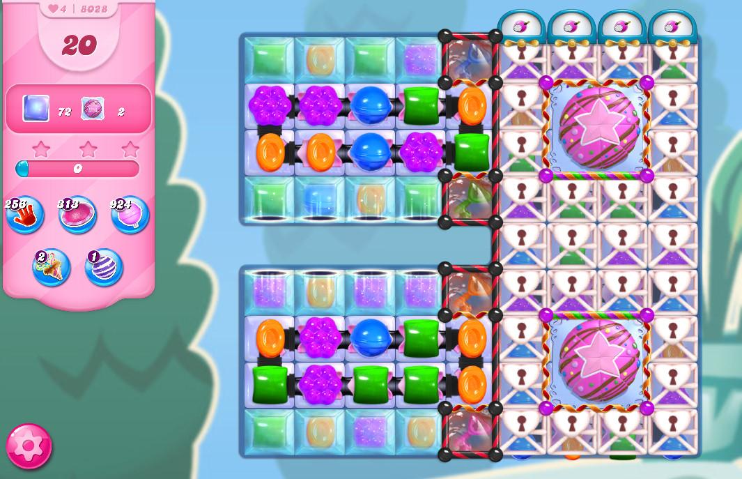 Candy Crush Saga level 8028