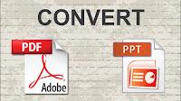 Come convertire un PDF in presentazione PowerPoint