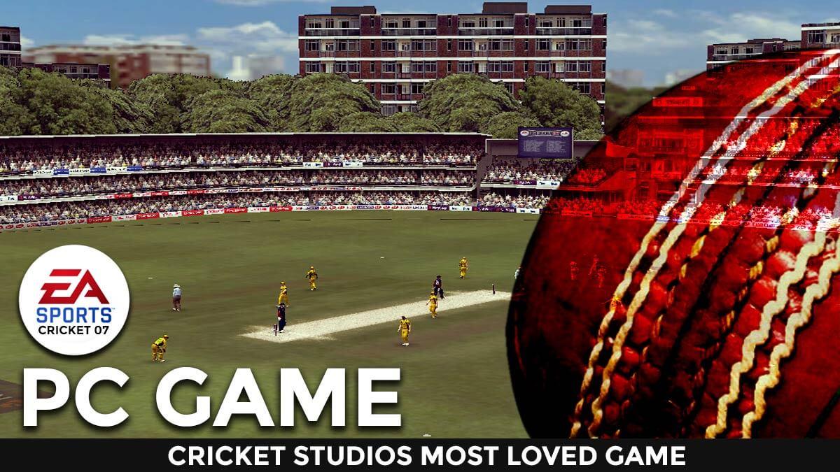 ea sports cricket 07 pc game