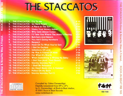 The Staccatos - Here and now  & He was a friend of mine [1968-1969].