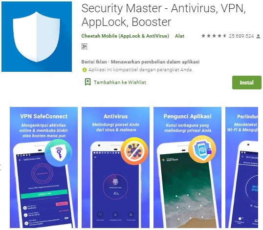 2 Antivirus Terbaik Untuk Android