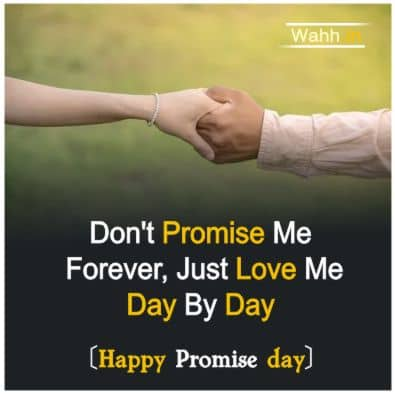 Promise Day  Sayings and Quotes