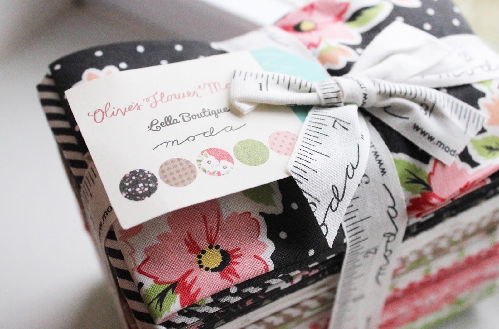 Olive\'s Flower Market + a Goody Goody Binding Kit - Hilltop Custom ...