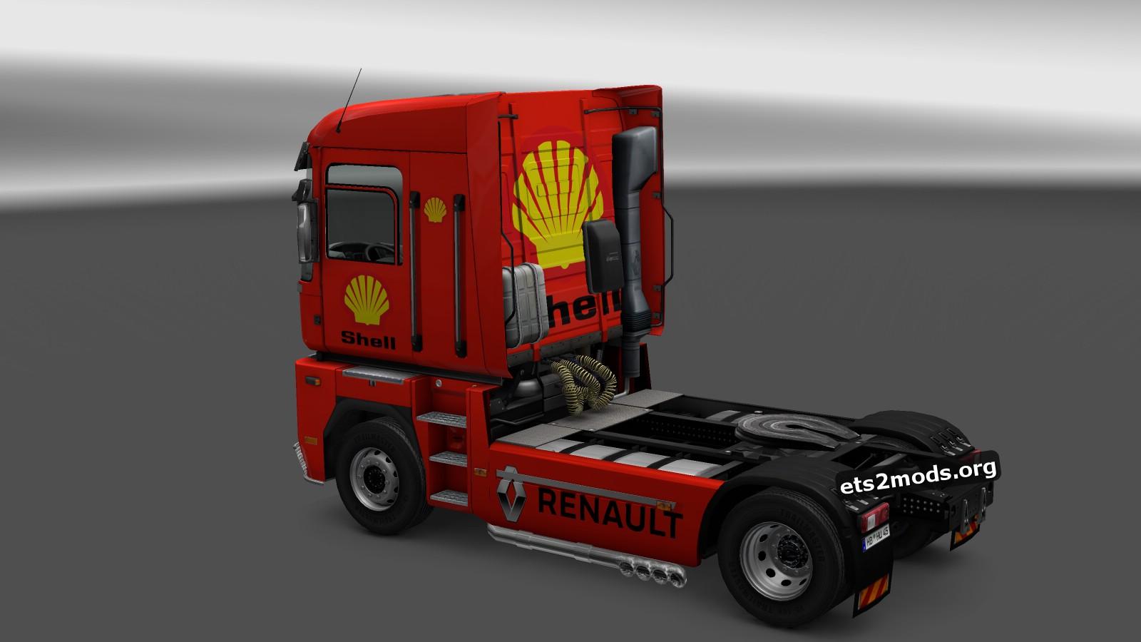 Renault Magnum Shell Skin