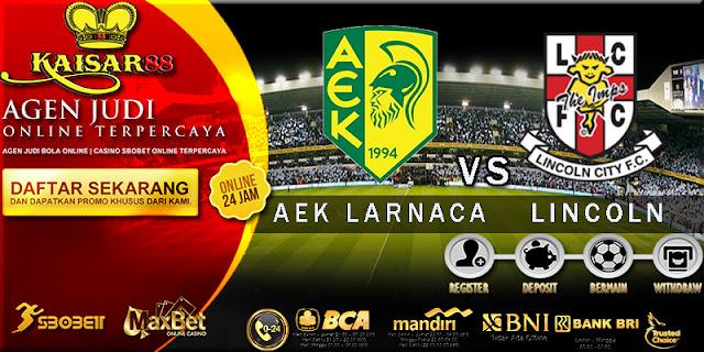PREDIKSI AEK LARNACA VS LINCOLN 30 JUNI 2017