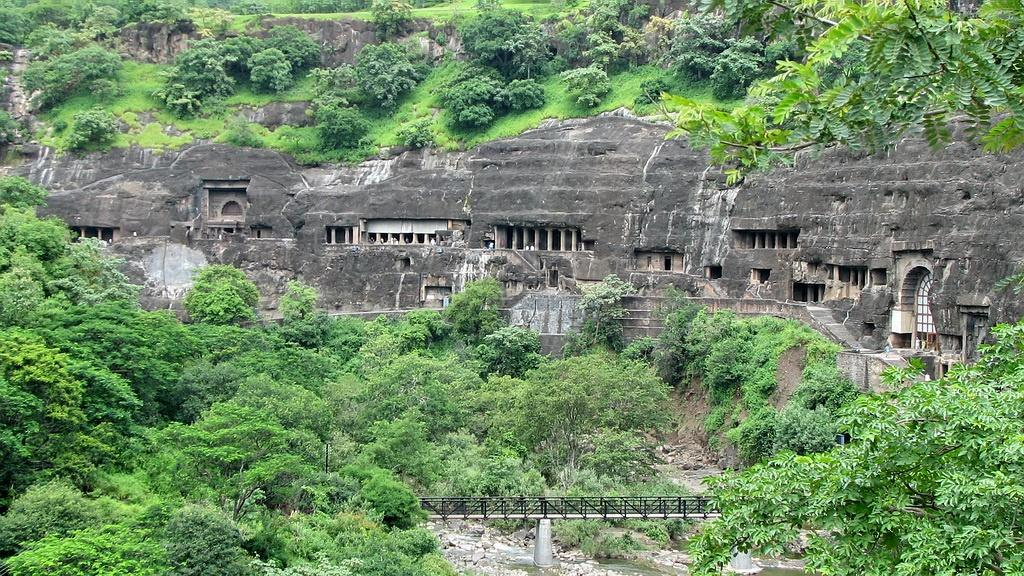 Ajanta Caves di India