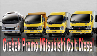 Promo Penjualan Mitsubishi Colt Diesel Fe Series