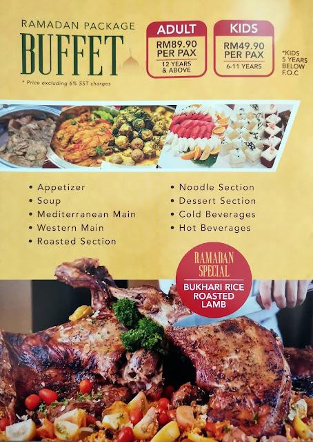Buffet Ramadan 2021 : Menu Istimewa Berbuka Puasa Di Me'nate Steak Hub