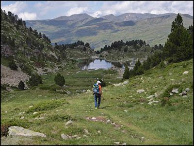 Descenso de Montmalus hacia Grau-Roig