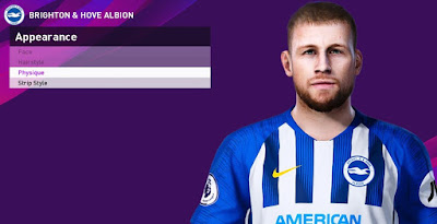 PES 2020 Faces Adam Webster by Rachmad ABs