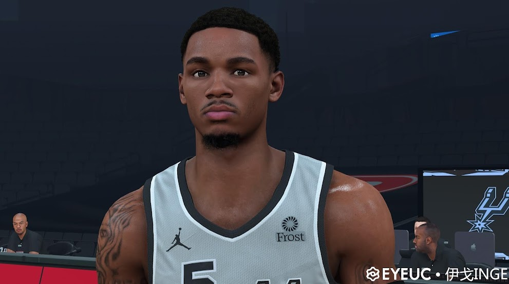Dejounte Murray Cyberface, Hair and Body Model By Igo Inge [FOR 2K21]