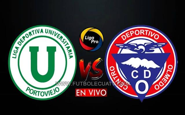 Liga de Portoviejo se enfrenta al Olmedo en vivo y en directo a partir de las 19h00 horario local, por la jornada trece del campeonato ecuatoriano, siendo emitido por GolTV Ecuador a jugarse en el reducto Reales Tamarindos. Con arbitraje principal de Marlon Vera.