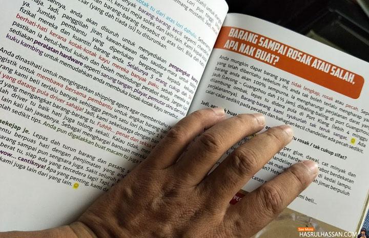 Buku dan DVD Panduan Untuk Beli Perabot Murah Dari China