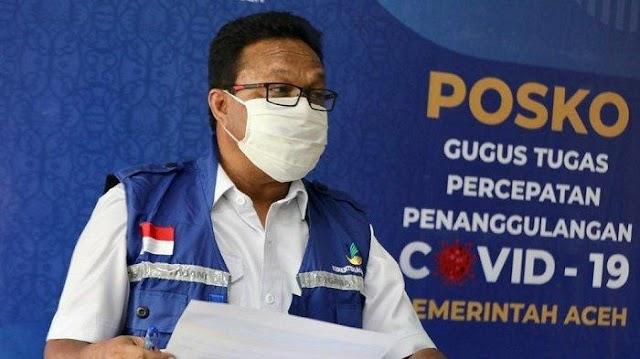 Total Terkonfirmasi Covid-19 di Aceh Capai 9.144 Kasus