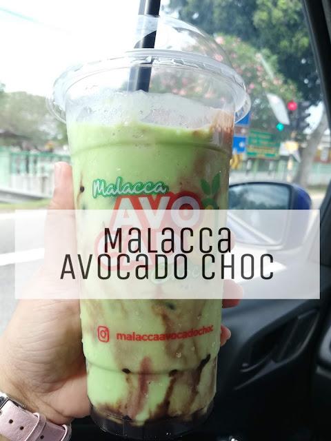 Makan Minum di Melaka : Malacca Avocado Choc Viral