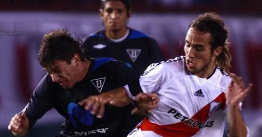 Estadísticas de River Plate: River Plate - Liga de Quito en Copas Internacionales