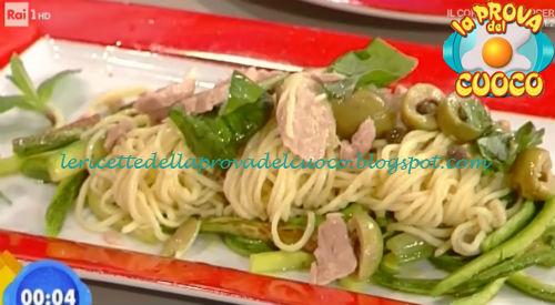 Tagliolini tonno e zucchine ricetta Fava da Prova del Cuoco