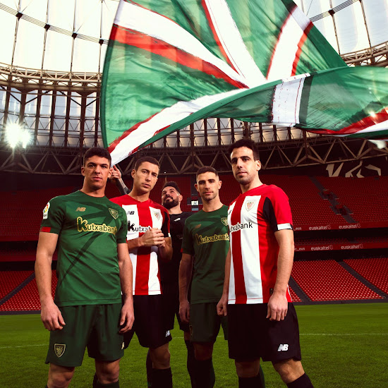 81bd0af2 Athletic Bilbao and New Balance this morning unveiled the brand-new 2019-2020  home and away jerseys, which are currently available to pre-order to ship  ...