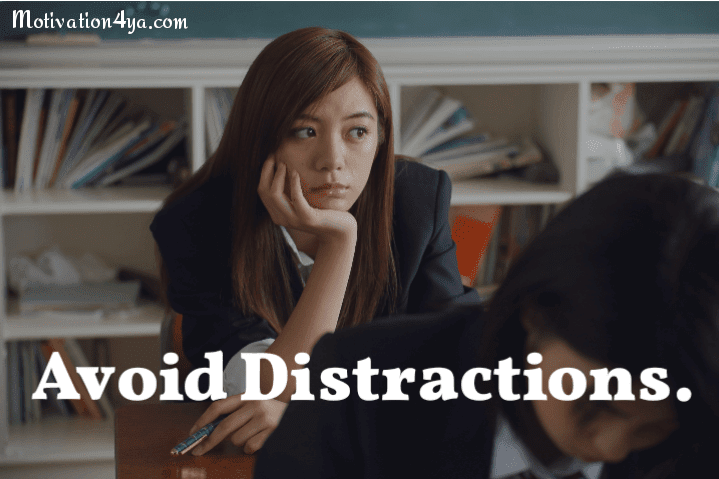 Avoid distractions with these steps, If you want to focus on your goals.