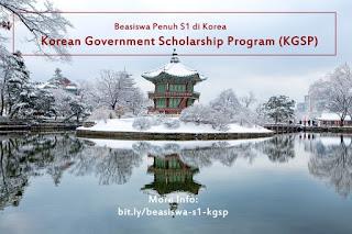 kuliah di korea selatan beasiswa kgsp
