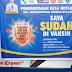 Kades Hutaraja Jupri  Sugianto, Simanjuntak, S. A. Md Apresiasi Vaksinasi  Covid-19 Lansia Di Istana Hasadaon Muaratais