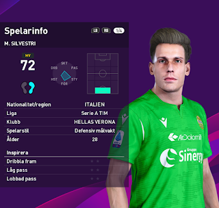 PES 2020 Faces Marco Silvestri by Random Facemaker