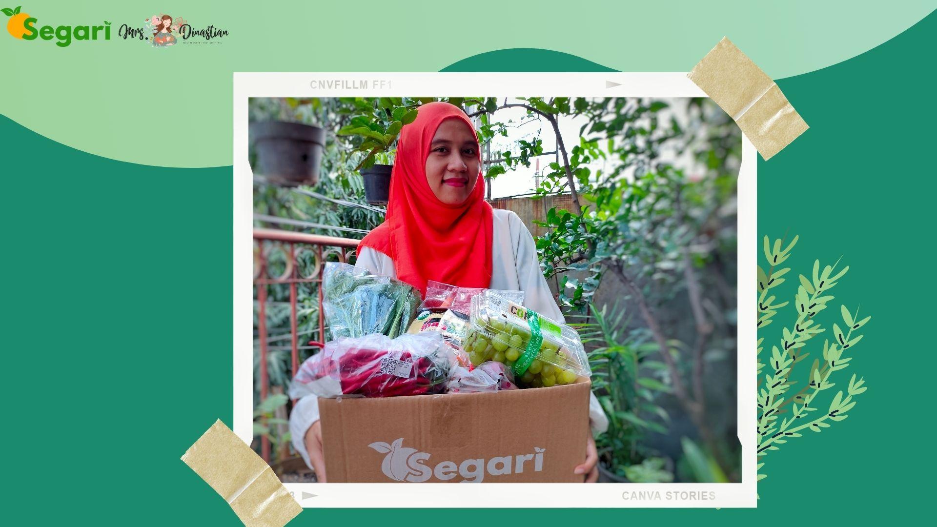 Pengalaman Belanja Sayur Online di Segari.id