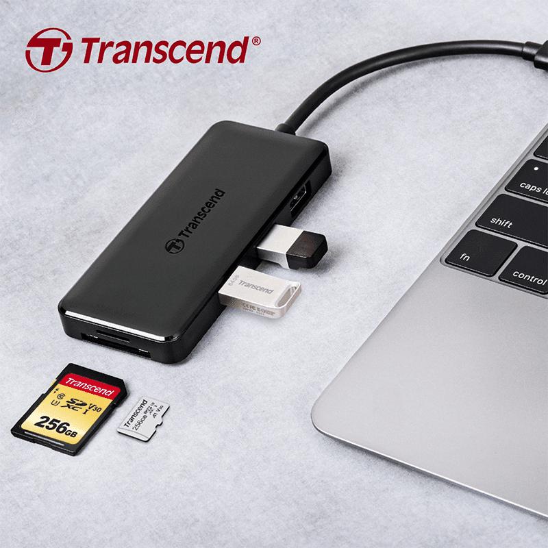 Transcend launches HUB5C USB 3.1 Gen 2 Type-C hub