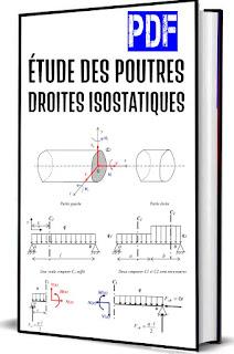 etude des poutres droites isostatiques PDF
