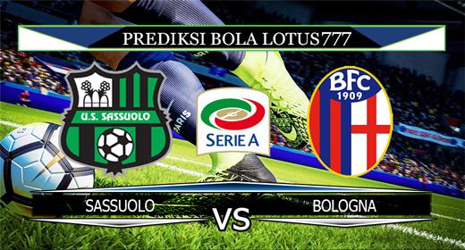PREDIKSI  BOLA SASSUOLO VS BOLOGNA 9 NOVEMBER 2019