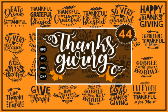 Thanksgiving Fall Svg Bundle