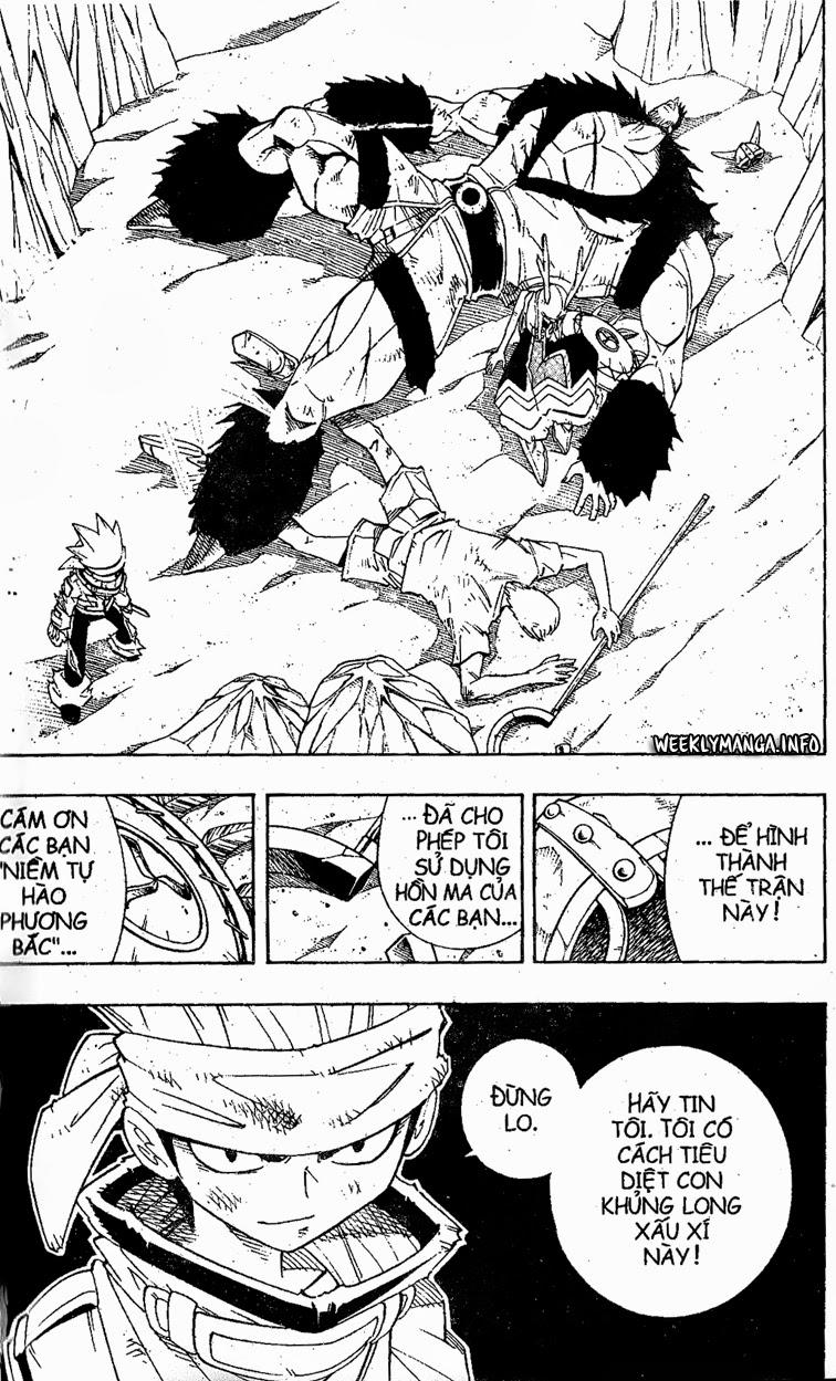 Shaman King [Vua pháp thuật] chap 185 trang 8