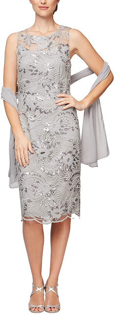 Short Lace Mother of The Bride Dresses
