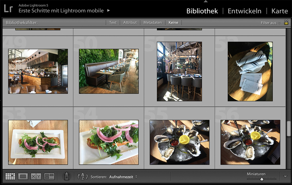Lightroom - Bilder aus California von SOAP|KITCHEN|STYLE