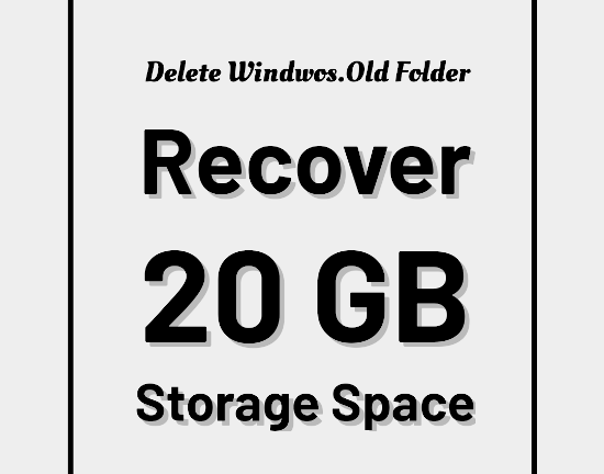 Delete-Windows-old-folder-installation-folder
