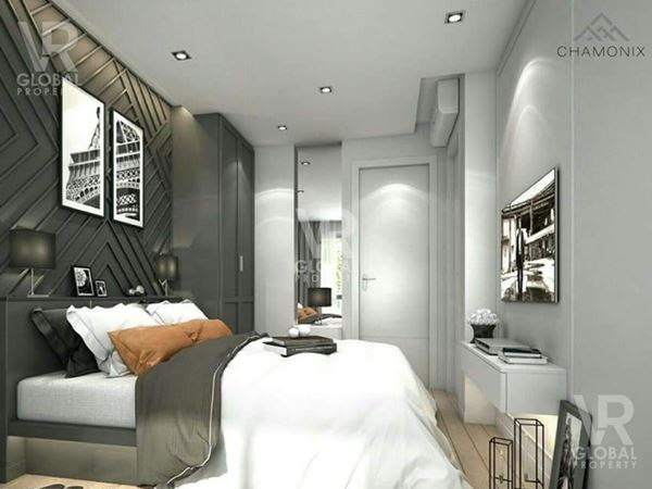 ขายห้องคอนโด Chamonix ชลบุรี ห้องดีไซน์หรู พื้นที่ 51 ตร.ม. บนชั้น 5