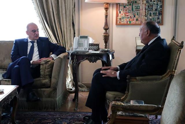 Ελλάδα και Αίγυπτος επιταχύνουν την οριοθέτηση ΑΟΖ