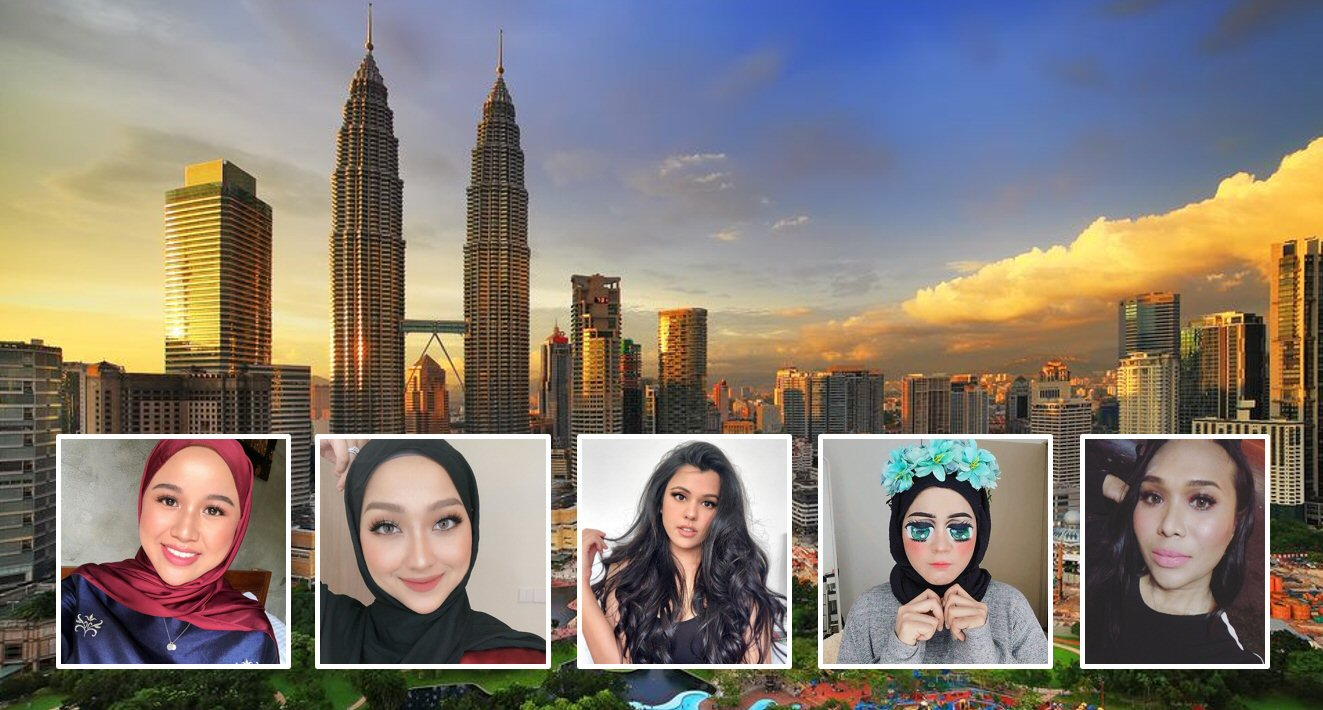 Top 5 Beauty Influencers in Malaysia
