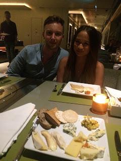 Club 55, Marina Bay Sands Hotel, chocolate and cheese buffet