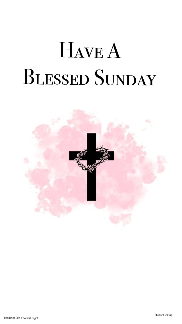 Blessed Sunday Friends
