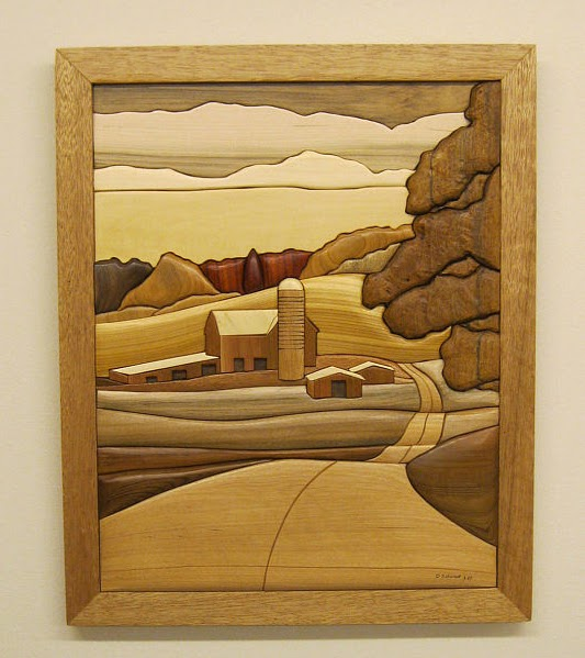 ArtisansOfAmerica: Rakowoods - Intarsia hand carved wood art wall ...