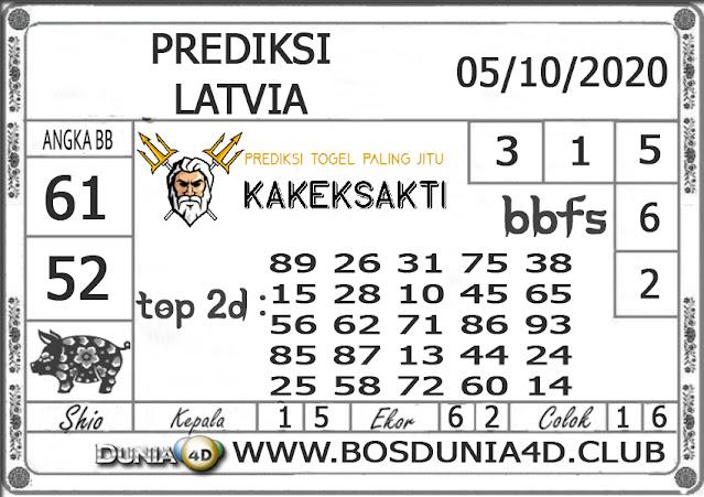 Prediksi Togel LATVIA DUNIA4D 05 OKTOBER 2020