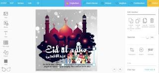 membuat kartu ucapan idul adha 2020 aplikasi online