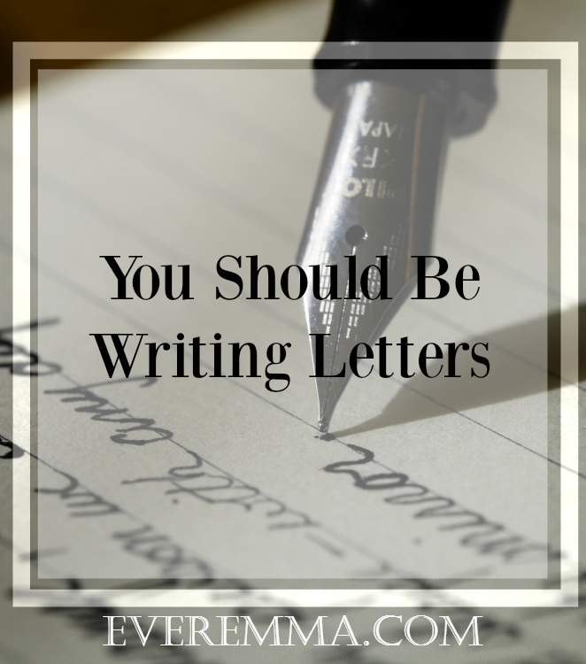 Want to become a better writer, but you don't know where to start? You should start by writing letters! Click here to find out why.