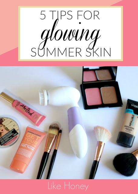 5 Tips for Glowing Summer Skin