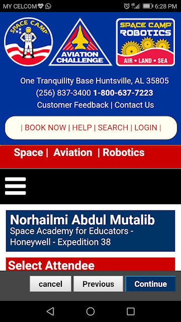 Honeywell Educators at Space Academy 2018 - Expedition 38