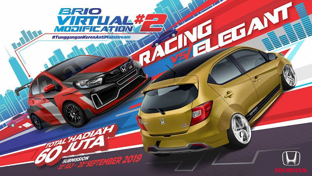 pemenang Honda Brio Virtual Modification (V-Mod) #2